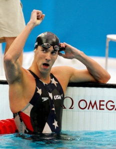 Michael Phelps and Omega